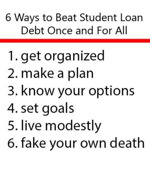beat student loan