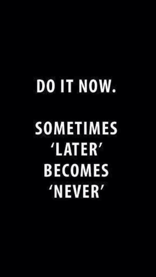 procrastinating